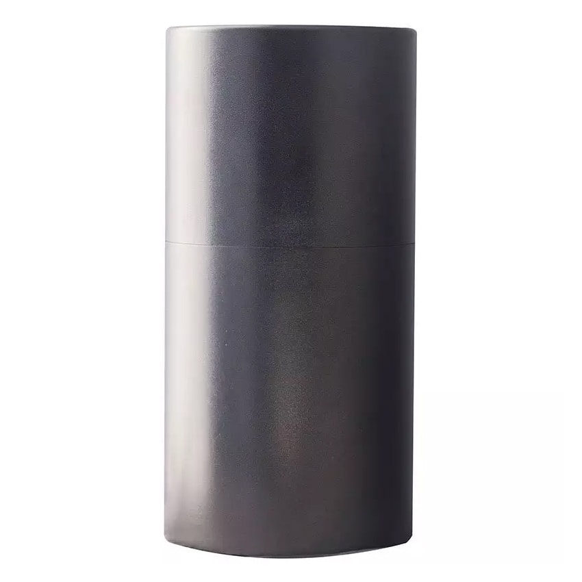 Witt AL35-SVN 35 gal Indoor Decorative Trash Can - Metal, Silver