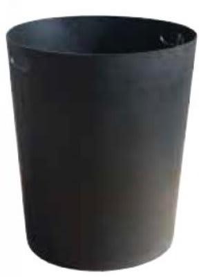 Witt SMB32L 32-gal Round Rigid Trash Can Liner, Plastic - Black