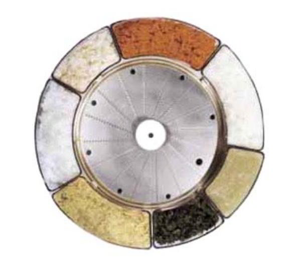 Robot Coupe 27078 Fine Pulping Disc for R2 & R301-Series, 0.7-mm