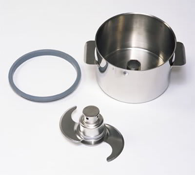 Robot Coupe 27108 3.5-qt Mini Bowl w/ Complete Smooth S-Blade Assembly, Stainless