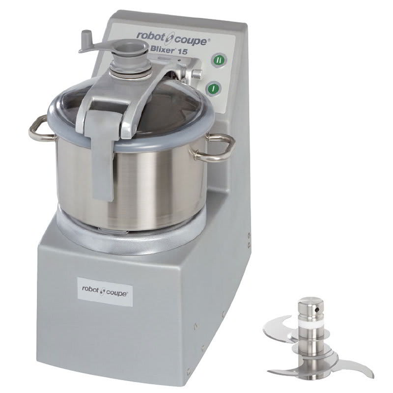 Robot Coupe BLIXER15 Vertical Commercial Blender Mixer w/ 15 qt Capacity & 2 Speeds