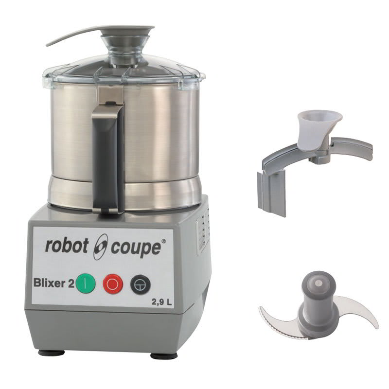Robot Coupe BLIXER2 Vertical Commercial Blender Mixer w/ 2.5 qt Capacity & 1 Speed