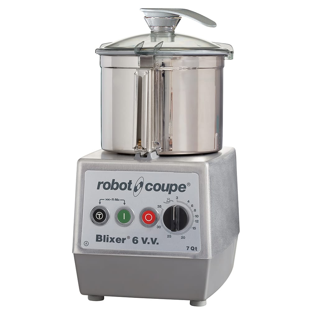 Robot Coupe BLIXER6VV Vertical Commercial Blender Mixer w/ 7-qt Capacity & Variable Speeds
