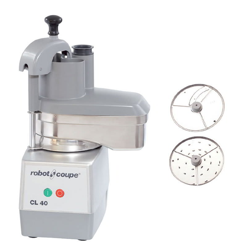 Robot Coupe CL40 1-Speed Cutter Mixer Food Processor w/ Side Discharge, 120v