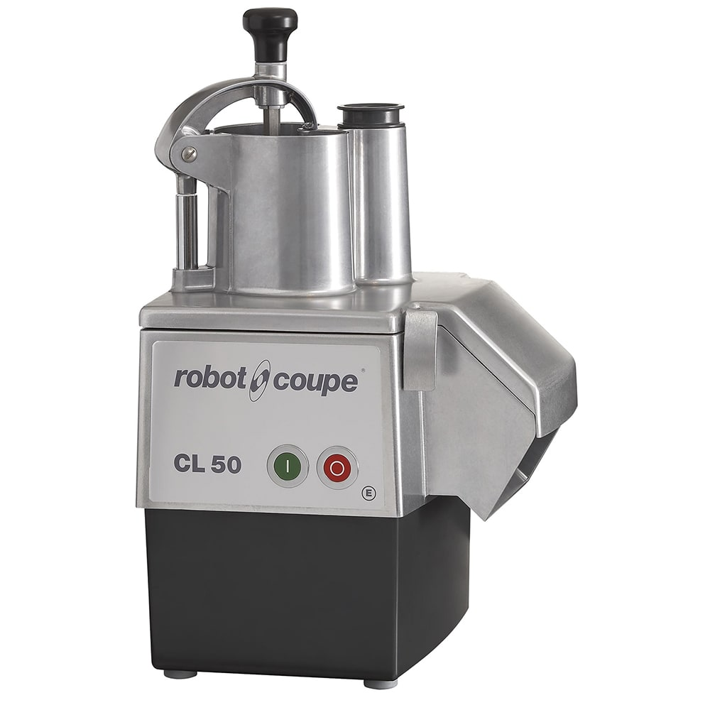 Robot Coupe CL50 1-Speed Cutter Mixer Food Processor w/ Side Discharge, 120v