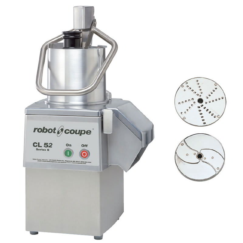 Robot Coupe CL52 1 Speed Cutter Mixer Food Processor w/ Side Discharge, 120v