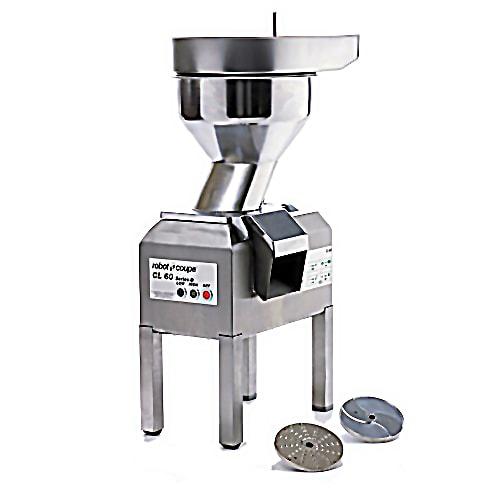 Robot Coupe CL60BULKW/STAND Bulk-D Commercial Food Processor w/ Stainless Bulk Hopper & 2 Speeds