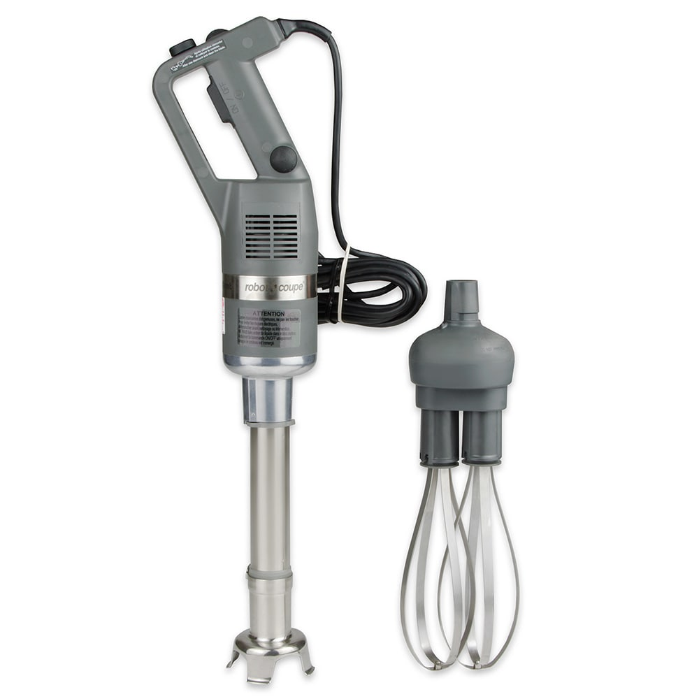 "Robot Coupe CMP250COMBI 16 qt Hand Held Combi Compact Power Mixer w/ 10"" Shaft & 8"" Whisk"