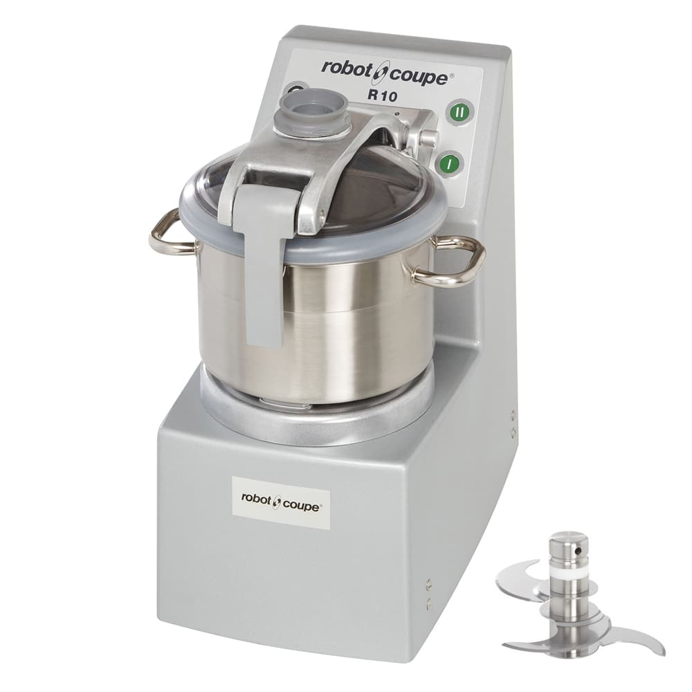 Robot Coupe R10 2 Speed Cutter Mixer Food Processor w/ 10 qt Bowl, 208 240v/3ph