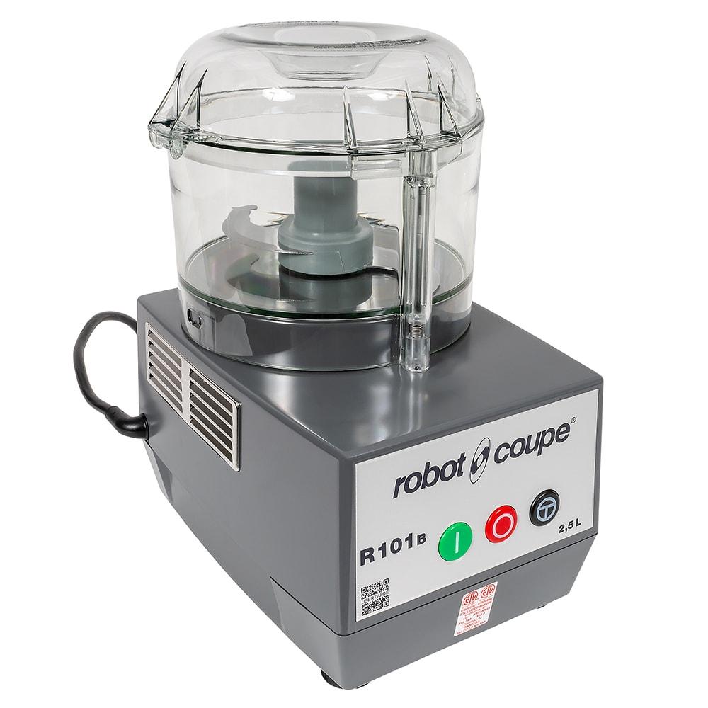 Robot Coupe R101BCLR 1 Speed Cutter Mixer Food Processor w/ 2.5 qt Bowl, 120v