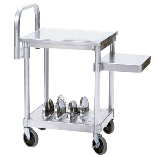 """Robot Coupe R199 18.5"""" x 34.25"""" Mobile Equipment Stand for Slicers, Undershelf"""