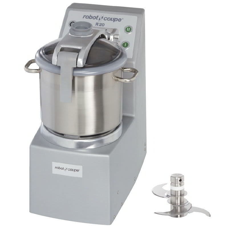 Robot Coupe R20 Vertical Cutter Mixer w/ 20-qt Stainless Bowl & 2-Speeds
