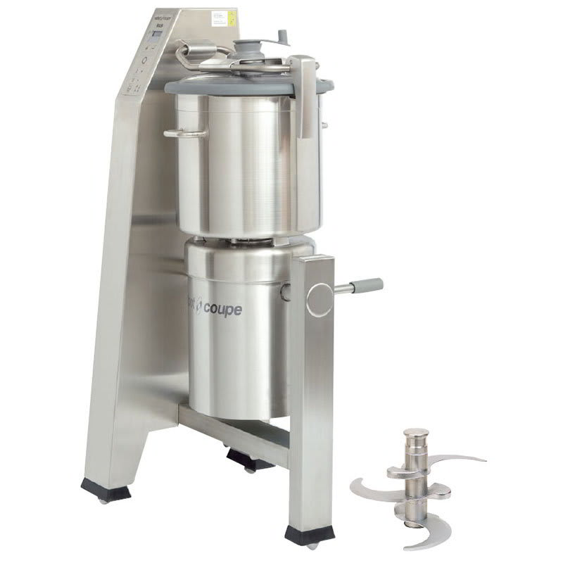 Robot Coupe R30T Vertical Cutter Mixer w/ 31 qt Stainless Tilt Cutter Bowl & 2 Speeds