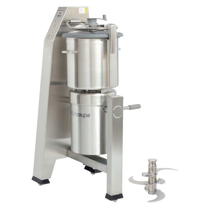 Robot Coupe R45T Vertical Cutter Mixer w/ 47-qt Stainless Tilt Cutter Bowl & 2-Speeds