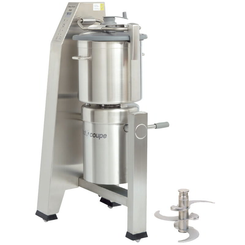 Robot Coupe R60T Vertical Cutter Mixer w/ 63 qt Stainless Tilt Cutter Bowl & 2 Speeds