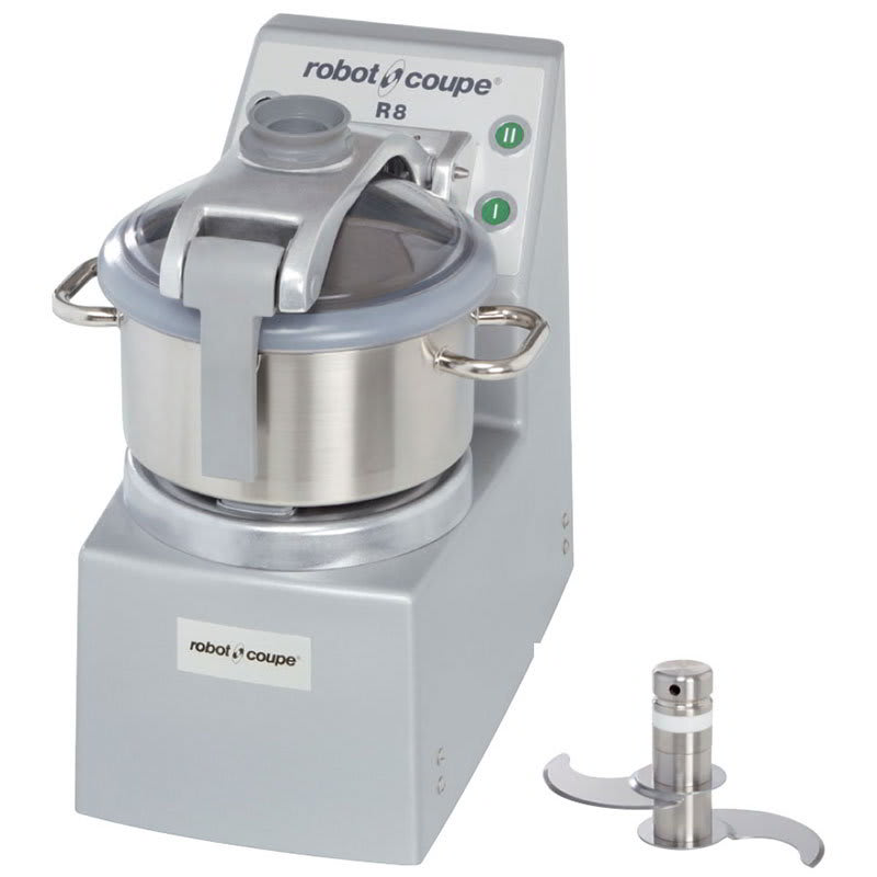 Robot Coupe R8ULTRA Vertical Cutter Mixer w/ 8-qt Bowl & 3.5-qt Mini Bowl, 2-Speeds