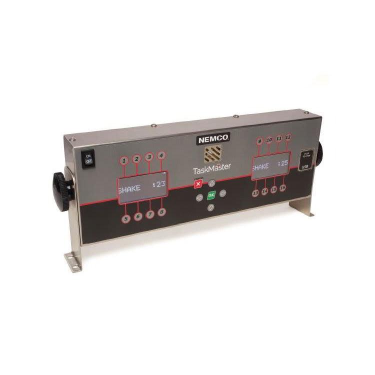 Nemco 2550-16 16-Channel Digital Timer w/ Twin LCD Display, 105-265v