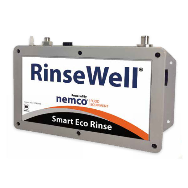 """Nemco 3005-606 6"""" Round Cleaning Well w/ Smart-Eco Rinse, 120v"""