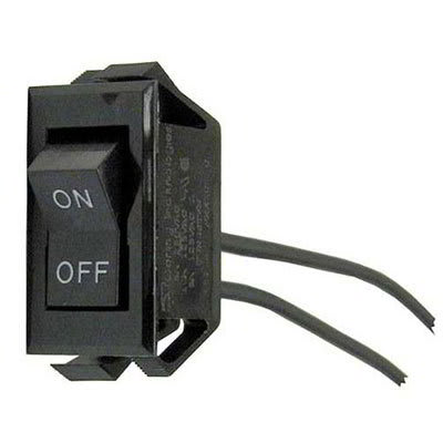 "Nemco 45379 Rocker Switch for Food & Infrared Warmers, On/Off w/ 6"" Leads"