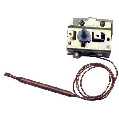 "Nemco 47656 Thermostat w/ 150-F Degree Temp Range, .25x3.5"" Bulb & 24"" Capillary Tube"