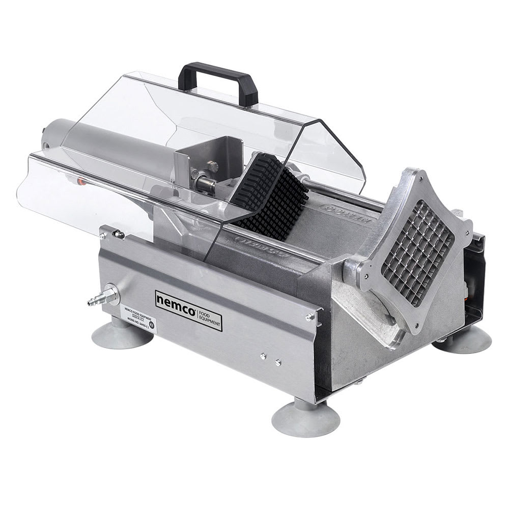 "Nemco 56455-1 Extra Large Potato Cutter w/ .25"" Cut & 720 Potatoes/Hour Capacity, Aluminum"