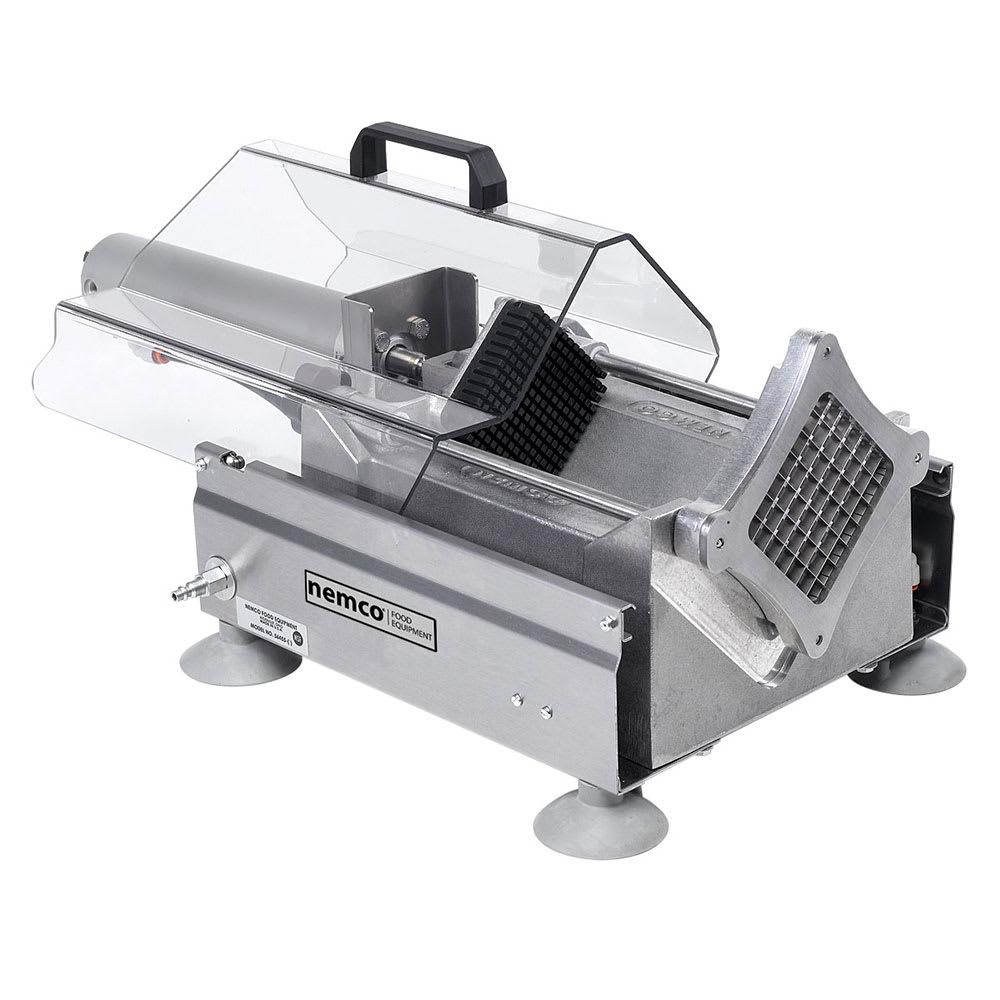 "Nemco 56455-3 Extra Large Potato Cutter w/ .50"" Cut & 720 Potatoes/Hour Capacity, Aluminum"