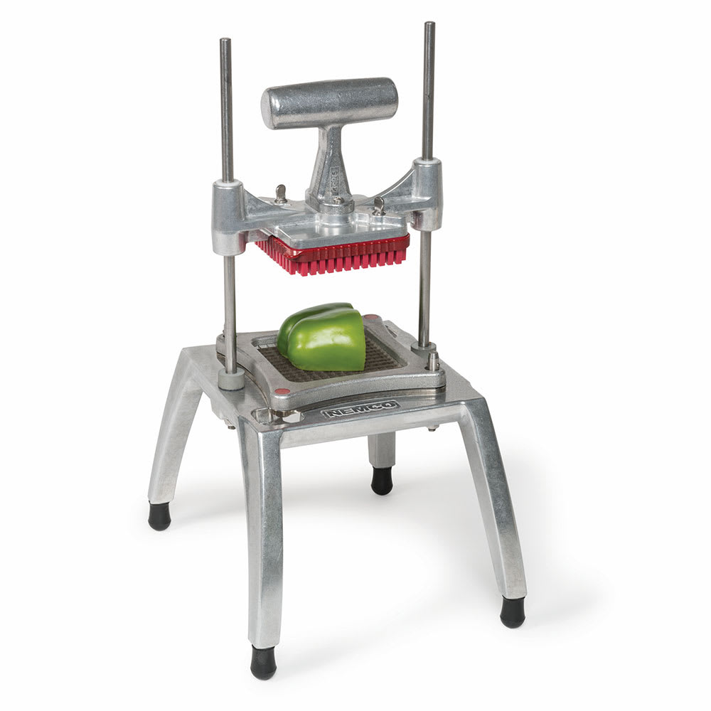 "Nemco 57500-4 Easy Chopper 3™ Vegetable Chopper w/ Interchangeable Blade Cartridges, 1""-Square"
