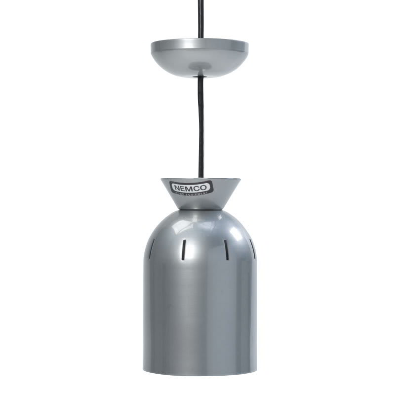 Nemco 6002 Ceiling Mount Heat Lamp w/ single Bulb & 6-ft Cord, 120/1 V