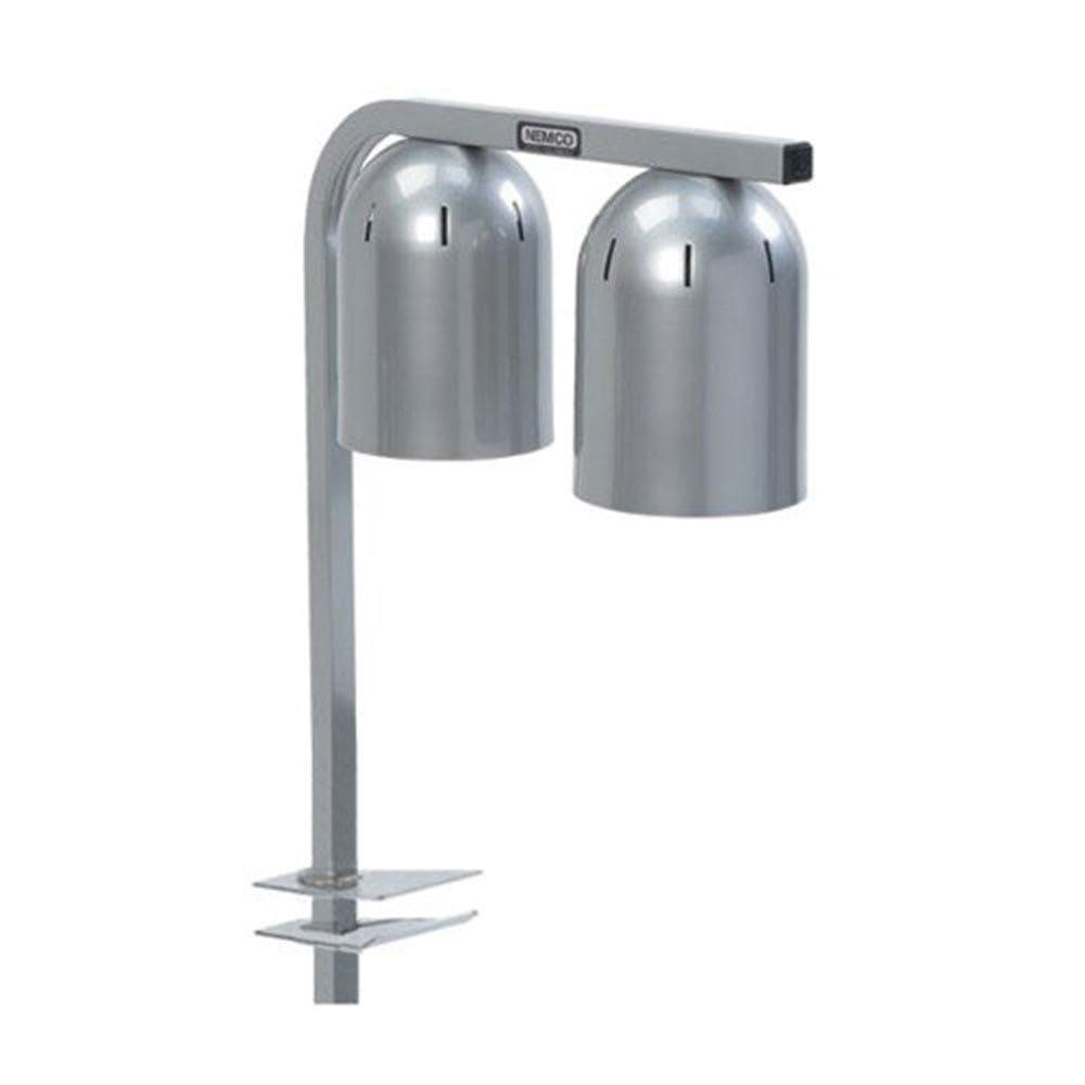 Nemco 6004-2 Heat Lamp w/ Portable Clamp & 2-Bulbs, 120/1 V