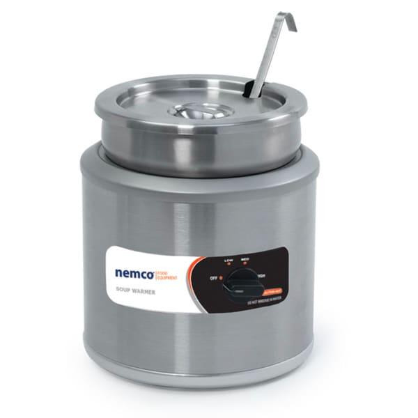 Nemco 6100A 7-qt Countertop Round Warmer w/ Adjustable Thermostat, 120/1 V