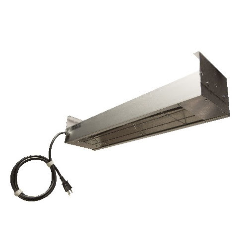 "Nemco 6150-72-CP Bar Heater w/ Calrod Heating Element, Cord & Plug, 72.25x6.75x2.75"", 120v"