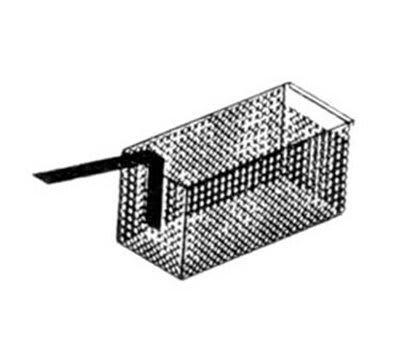 "Nemco 67016 Fryer Basket w/ Uncoated Handle & Front Hook, 19"" x 4.375"" x 8.25"""