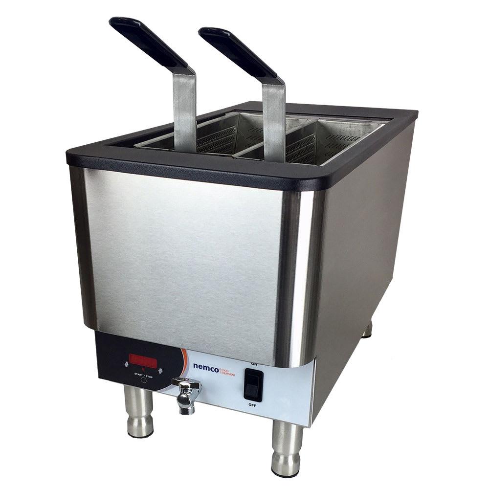 Nemco 6760-240 Countertop Pasta Cooker Boiling Unit - Single Tank, 2.5-gal Capacity, 240v