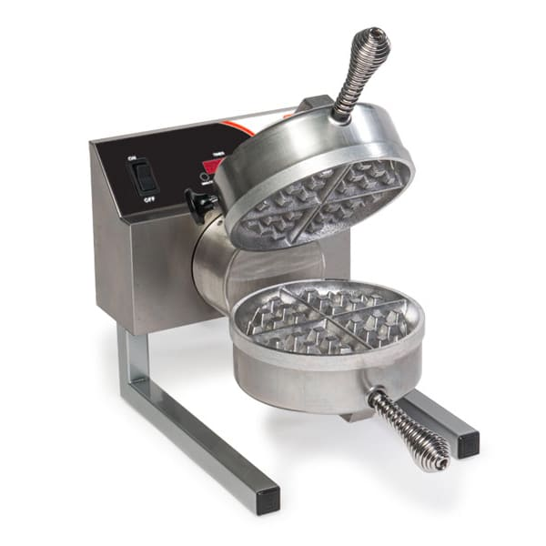 Nemco 7020A-S Single Waffle Baker w/ Digital Control & Non Stick Coating, 8.2 amps, 120/1V