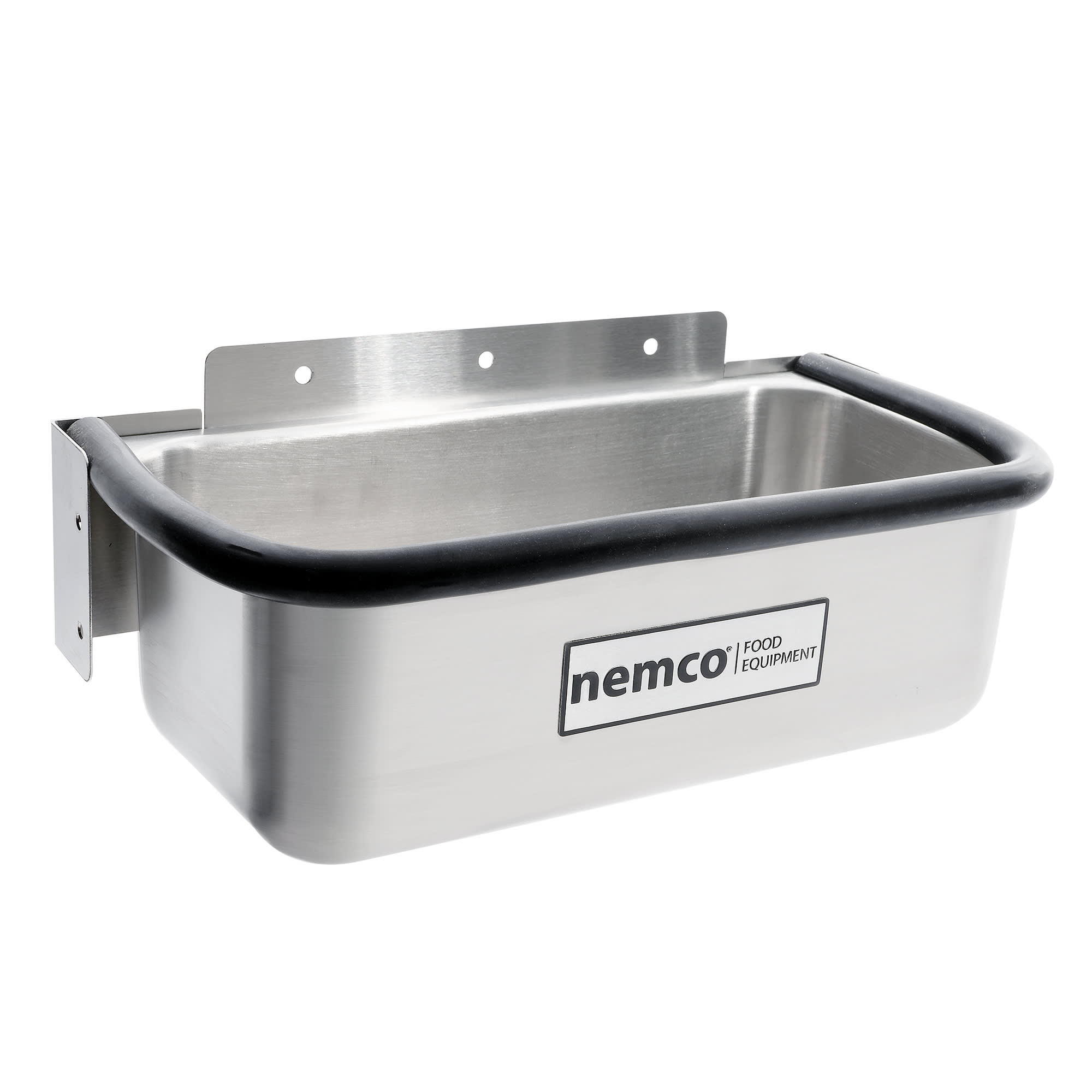 """Nemco 77316-13 13"""" Spade Cleaning Well - .38"""" Round Spigot & Rubber Bumper, Stainless"""