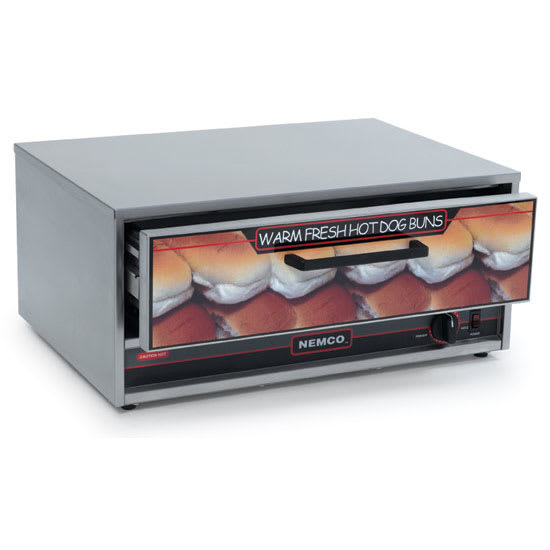 Nemco 8045N-BW Moist Heat Bun Warmer w/ 32-Bun Capacity For 8045N Series, 120/1 V