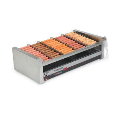 Nemco 8230SX-SLT 30 Hot Dog Roller Grill - Slanted Top, 120v