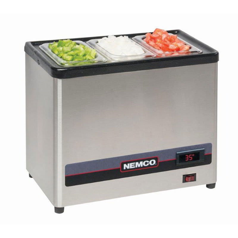 Nemco 9020 Dipper Style Condiment Well Only, Digital, 120v