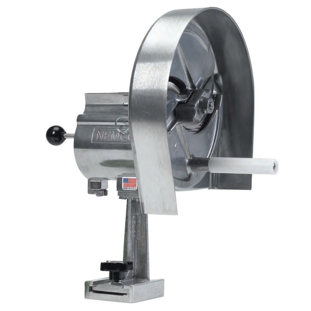 """Nemco 55200AN Vegetable Slicer w/ Adjustable Blade & .06"""" To .5"""" Slicing Thickness Options"""