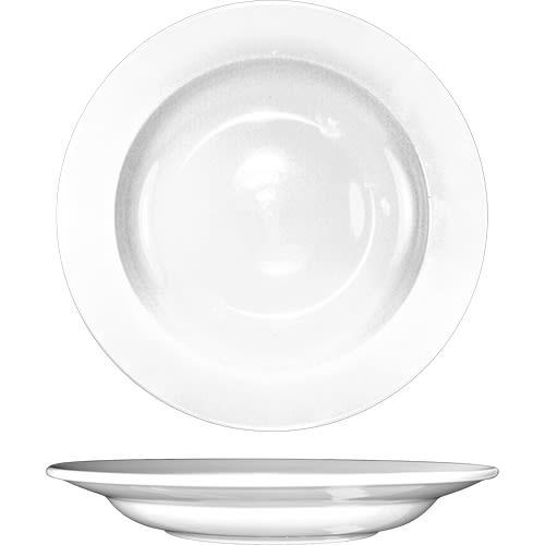 ITI DO-120 20 oz Porcelain Pasta Bowl w/ Rolled Edge, Dover™, European White