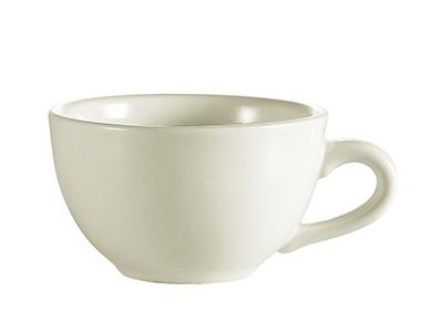CAC NRC-1 American White Narrow Rim Coffee Cup, NRC, Round