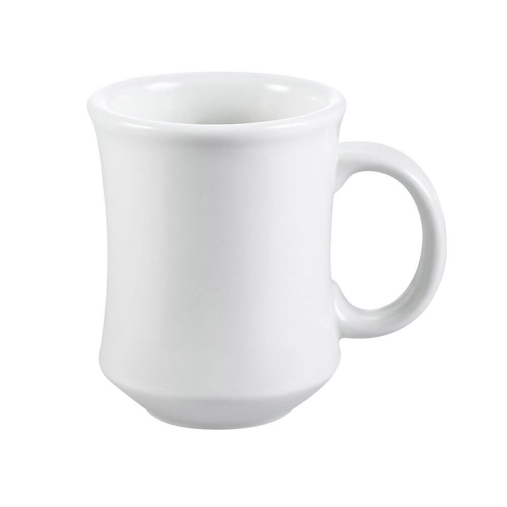 CAC PM7W 7-oz Provo Mug - Ceramic, American White