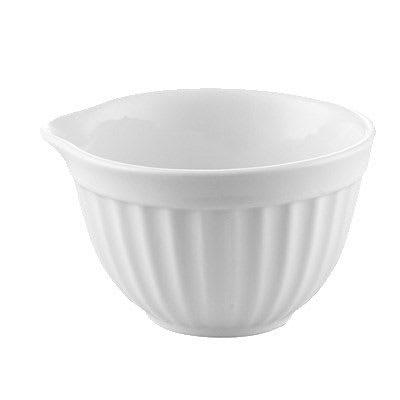 CAC RKF-208 8-oz RKF Ramekin - Porcelain, Super White