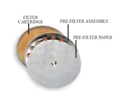 Cecilware 20215 FRY-SAVER Pre-Filter Assembly, Stainless