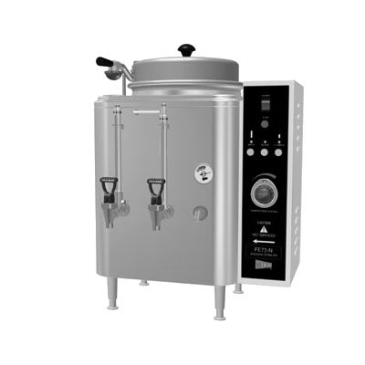 Cecilware CH75N-119882 Single Chinese Hot Tea Urn w/ 3-gal/Liner Capacity, Fresh Water, 208v/1ph