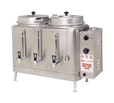 Cecilware CH75N Single Chinese Hot Tea Urn w/ 3-gal/Liner Capacity, Fresh Water, 240v/3ph