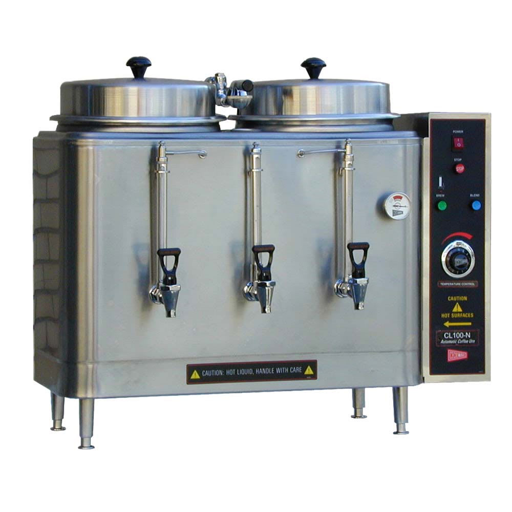 Cecilware CL100N-117382 Coffee Urn w/ (2) 3 gal Capacity Tanks, Pump Style Brewing System, 240v/1ph