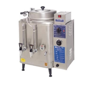 Cecilware CL200-3 Twin Coffee Urn w/ 6 gal/Liner Capacity, Automatic, Fresh Water, 208v/3ph