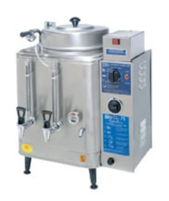 Cecilware CL75N-1 3 gal Single Coffee Urn, Automatic, Fresh Water, 240v/3ph
