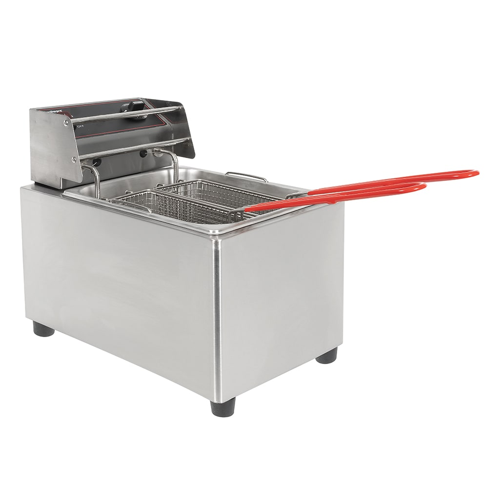 Cecilware EL15 Countertop Electric Fryer - (1) 15 lb Vat, 120v
